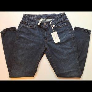 NWT Ann Taylor Women's Curvy Fit Skinny Jeans 6P